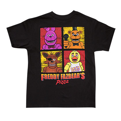 FIVE NIGHTS AT FREDDY'S Youth Pizza Tee Shirt