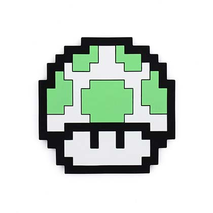 Nintendo Green Mushroom Teether