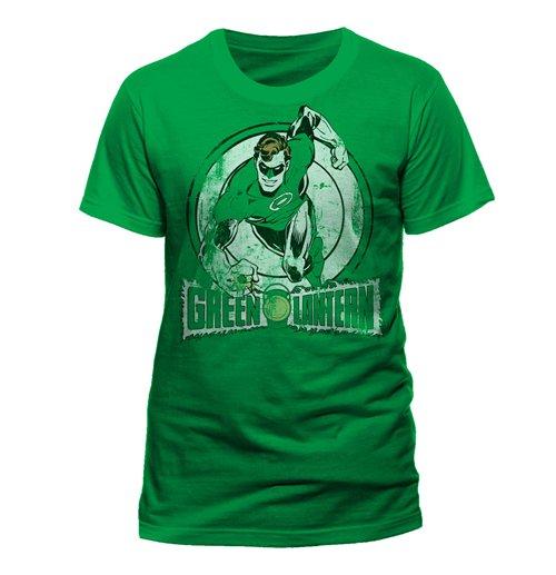 0313e183d Official DC Comics T-Shirt Green Lantern Run: Buy Online on Offer
