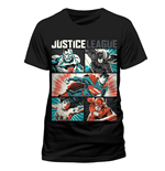 Justice League T-Shirt Pop Art