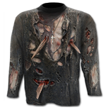 Zombie Wrap - Allover Longsleeve T-Shirt Black