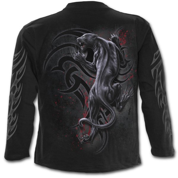 buy official tribal panther longsleeve  shirt black