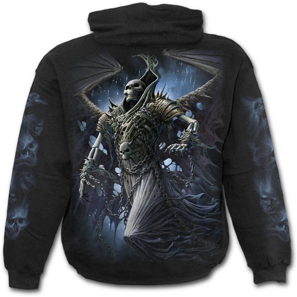 Winged Skelton - Hoody Black