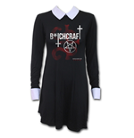 Coven - Bitchcraft - AHS PeterPan Collar Baby Doll Dress