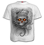 Roots Of Hell - T-Shirt White