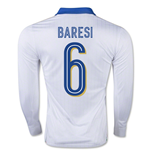 2015-16 Italy Away Shirt Long Sleeve (Baresi 6)