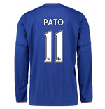 2015-2016 Chelsea Home Long Sleeve Shirt (Pato 11) - Kids