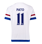 2015-2016 Chelsea Away Shirt (Pato 11) - Kids