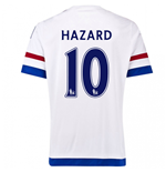 2015-2016 Chelsea Away Shirt (Hazard 10) - Kids