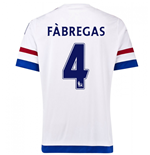 2015-2016 Chelsea Away Shirt (Fabregas 4) - Kids