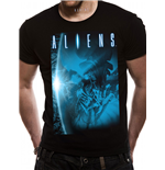 Alien - Blue - Unisex T-shirt Black