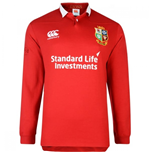 2016-2017 British & Irish Lions Home Classic LS Rugby Shirt