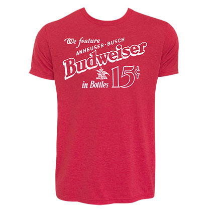 BUDWEISER Old School Tee Shirt