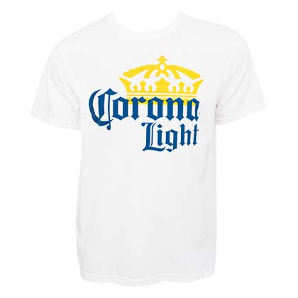 Corona Light Large Logo Tee Shirt