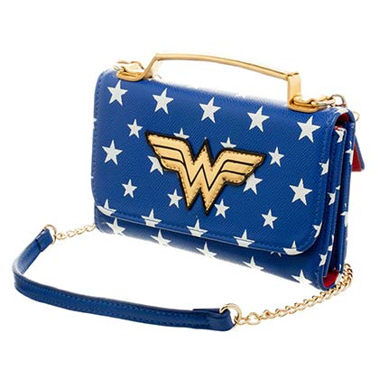 WONDER WOMAN Crossbody Clutch Bag