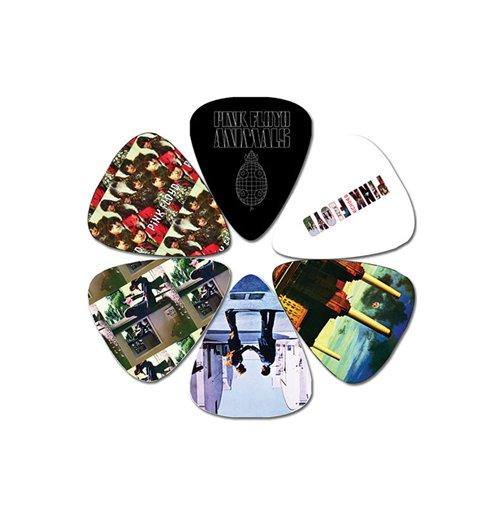 official pink floyd 6 guitar pick set animals buy online on offer. Black Bedroom Furniture Sets. Home Design Ideas