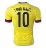 2015-2016 Colombia Adidas Home Shirt (Your Name)