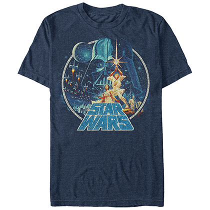 STAR WARS Vintage Victory Blue T-Shirt