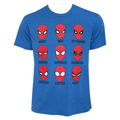 SPIDERMAN Expressions Tee Shirt