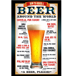 Beer - How To Order Max Poster (61x91,5 Cm)