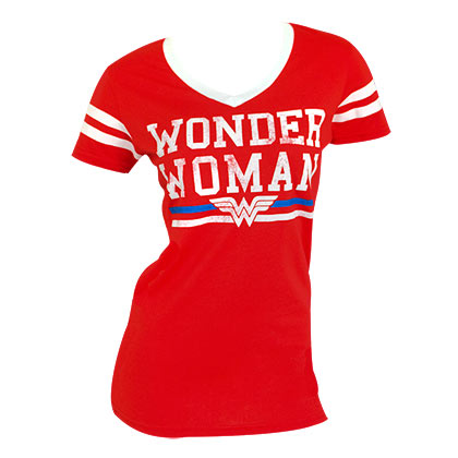 WONDER WOMAN Varsity Tee Shirt
