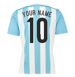 2015-16 Argentina Home Shirt (Your Name) -Kids