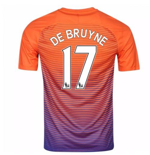 buy online 2d537 ecef9 2016-17 Manchester City Third Shirt (De Bruyne 17) - Kids