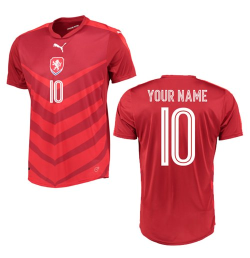 2016-2017 Czech Republic Home Shirt (Your Name)