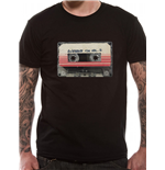 Guardians Of The Galaxy Vol 2 - Tape - Unisex T-shirt Black