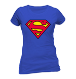 Superman Ladies T-Shirt Logo