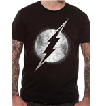 The Flash T-Shirt Logo Mono Distressed