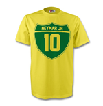 Neymar Jr Brazil Crest Tee (yellow) - Kids