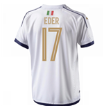 2006 Italy Tribute Away Shirt (Eder 17) - Kids