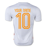 2015-2016 Holland Nike Away Shirt (Your Name)