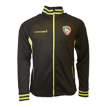 2016-2017 Leicester Tigers Zip Thru Jacket (Black)