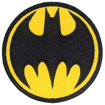 BATMAN Iron On Patch