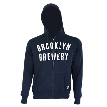 BROOKLYN BREWERY Zip Up Hoodie