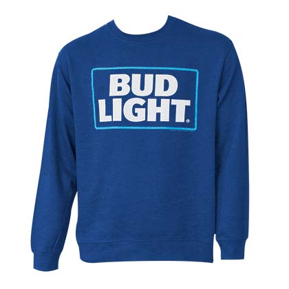 BUD LIGHT Crewneck Sweatshirt - Navy
