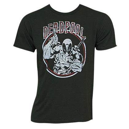 DEADPOOL Circle Logo Tee Shirt
