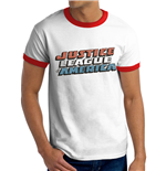 Justice League - Vintage Logo - Unisex T-shirt White