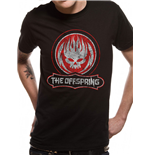The Offspring - Distressed Skull - Unisex T-shirt Black
