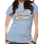 Guardians Of The Galaxy Vol 2 - Yeah Baby - Women Fitted T-shirt Blue