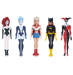 The New Batman Adventures Action Figure 5-Pack Girls Night Out 14 cm