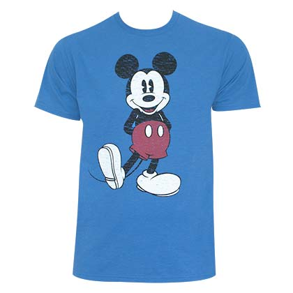 shirts mickey mouse mickey mouse retro tee shirt. Black Bedroom Furniture Sets. Home Design Ideas