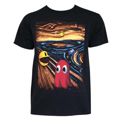 PAC-MAN Horror Art Tee Shirt