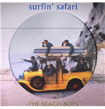 Vynil Beach Boys - Surfin Safari + Candix Recordings (Picture Disc)