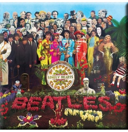 The Beatles Magnet - Sgt Pepper