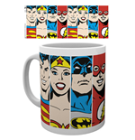 DC Comics Superheroes Mug - Faces