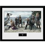 Vikings Framed Print - Beach
