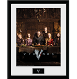 Vikings Framed Print - Table